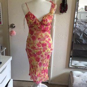 Bebe Floral spring dress